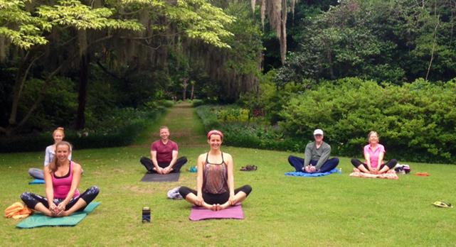 Yoga at Airlie Gardens @ Airlie Gardens