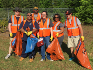Trash Mob- Volunteer Opportunity @ Parkwood Park | Wilmington | North Carolina | United States
