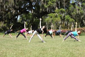 Earth Day Yoga @ Airlie Gardens | Wilmington | North Carolina | United States